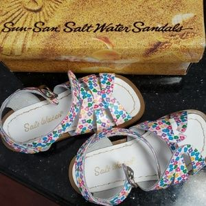 Floral Saltwater sandal(s) NWOT